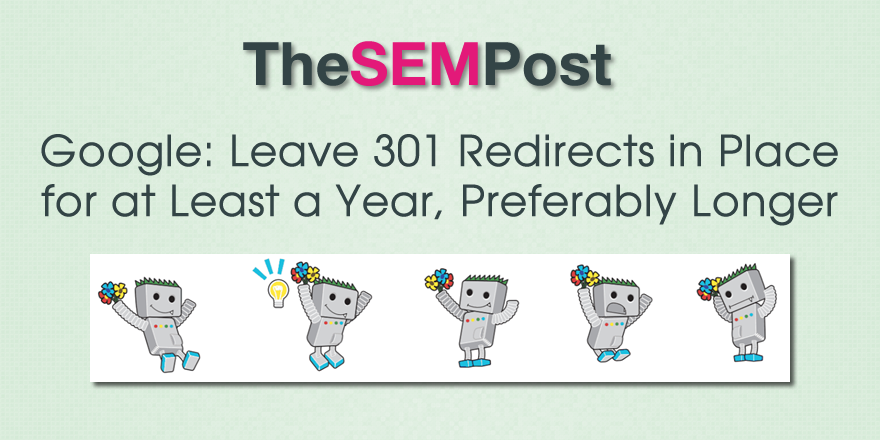 google-leave-301-redirect-year