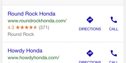 Google Shows Special Ad Note for Vehicles in Local Ad Pack