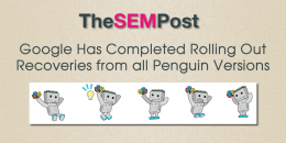 Google Has Completed Rolling Out Recoveries From All Versions of Penguin