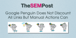 Google Penguin Does Not Discount All Links But Manual Actions Can