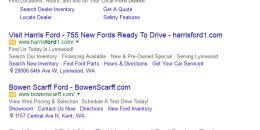 Google Testing Yellow AdWords Icons Again