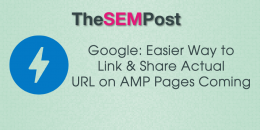 Google: Easier Way to Link & Share Actual URL on AMP Pages Coming