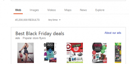 Bing Ads Launches New Black Friday Flyers Carousel