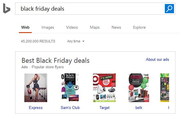 Black Friday Flyer Ads