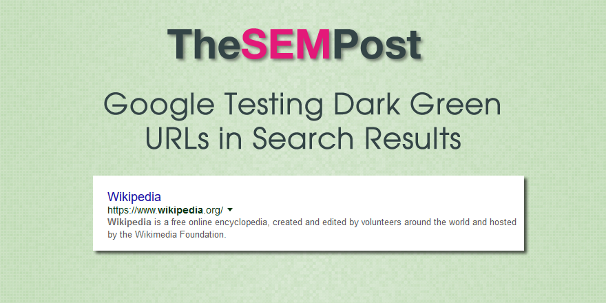google-dark-green-url