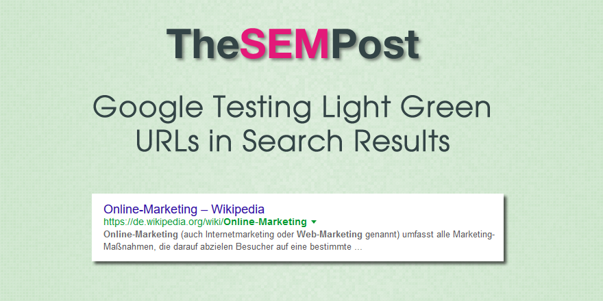 google-light-green-urls