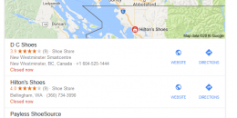 Google Showing Local Packs at Bottom of Search Results