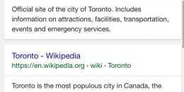 """Google Testing """"Back to Top"""" in Mobile Search Results"""