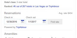 Bing Adds Hotel Amenities to Hotel Knowledge Panels