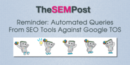 Automated Queries From SEO Tools Against Google TOS