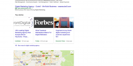 Google's New Card Style News Drops Local 3-Pack Lower in Search Results