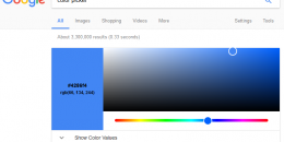 Google Adds Color Pickers to Search Results