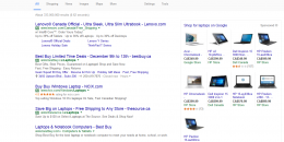 Google AdWords Expands Product Listing Ads on Right Sidebar