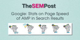Google: Stats on Page Speed of AMP