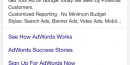 Google AdWords Testing Outlined Ads Tag in Search Results