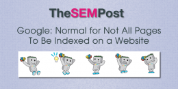 Google: Normal for Not All Pages to Be Indexed on a Website