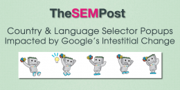 Country & Language Selector Popups Impacted by Google's Mobile Interstitial Change
