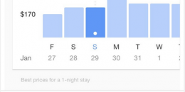 Google Testing Price Trends for Local Hotel Listings
