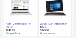 Google AdWords Testing Non-Carousel PLAs in Mobile Search Results
