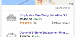 Google AdWords Testing Local Inventory Ads in Local Pack