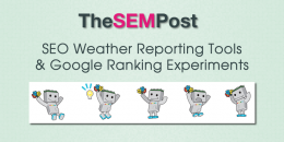 SEO Weather Reporting Tools & Google Ranking Experiments