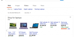 Bing Ads Begins Showing Product Ads Carousels in Search Results