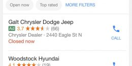 Google Local 3-Pack Drops Organic Listing for Local Ad