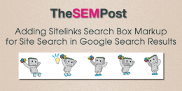 Adding Sitelinks Search Box Schema for Site Search in Google Search Results