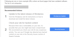 Google Sends Outdated WordPress Alerts to Site Owners