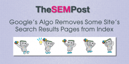 Google's Algo Removes Some Site's Search Results Pages from Index