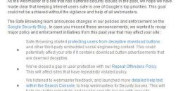 "Google Sending ""Safe Browsing Policy Updates"" to Previously Hacked Sites"