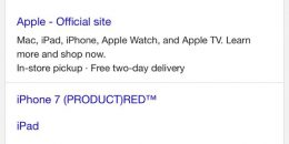 Google AdWords Testing URLs Above Title on Mobile Search Results