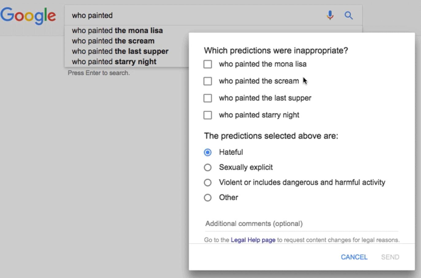 google feedback form - Carnaval.jmsmusic.co