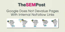 Google Does Not Devalue Pages With Internal Nofollow Links