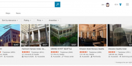 Bing Adds Hotel Carousel to Top of Search Results