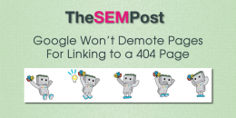 Google Won't Demote Pages For Linking to a 404 Page