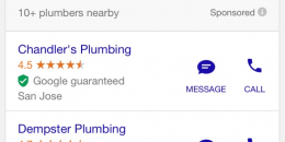 Google AdWords Adds Messaging Feature in Home Service Ads