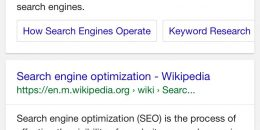 "Google Adds ""On This Page"" Above Internal Section Sitelinks"