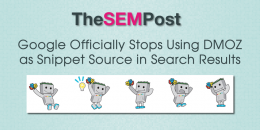 Google Officially Stops Using DMOZ as Snippet Source in Search Results