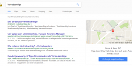 Google Maps Soliciting Location Information in Organic Search Results