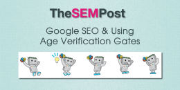 Google SEO & Using Age Verification Gates