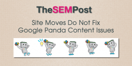 Site Moves Do Not Fix Google Panda Content Issues