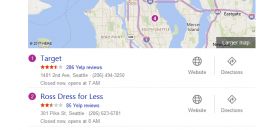 Bing Adds Deal Tag to Local Pack in Search Results