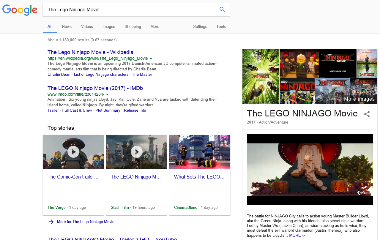 Google trials autoplay videos in search results