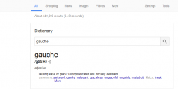 Google Adds Dictionary Search Box to the Google Search Results