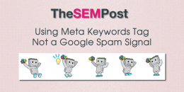 Using Meta Keywords Tag Not a Google Spam Signal