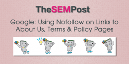 Google: Using Nofollow on Links to About Us, Terms, and Policy Pages