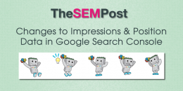Changes to Impressions & Position Data in Google Search Console