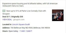 Google Adds AdWords Ads in Local Knowledge Panel in Test