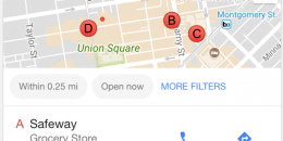 Google Testing Ad Tag Placement in Google Local Packs
